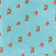 Retro Picnic Roses Paper