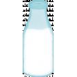 Retro Picnic Milk Bottle