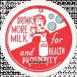 Retro Picnic Milk Label