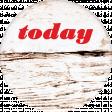 Retro Picnic Today Round Sticker