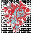 Retro Picnic Floral Sticker