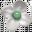 Retro Picnic White Flower
