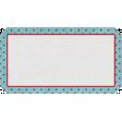 Retro Picnic Polka Dot Label