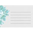 "Retro Picnic Journal Card Rose 4""x 6"""