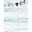 "Retro Picnic Journal Card Wood & Banner 3""x 4"""