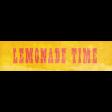 Peach Lemonade - Lemonade Time Word Art Snippet