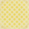 Peach Lemonade Large Polka Dots Paper