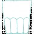 Peach Lemonade Glass