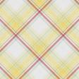 Peach Lemonade Plaid Paper 5