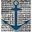 Nantucket Feeling {Sail Away} Anchor Enamel Pin