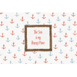 Nantucket Feeling {Sail Away} Happy Place 4x6 Journal Card