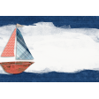 Nantucket Feeling {Sail Away} Sailboat 4x6 Journal Card
