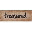 Cherish Treasured Word Art