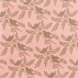 Cherish Birds Peach Paper