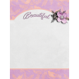 "Cherish Beautiful Journal Card 3""x 4"""