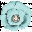Cherish Teal Flower