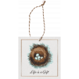Cherish Nest Tag with String
