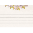 "Tea in the Garden Rose Journal Card 4"" x 6"""