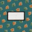 "Furry Cuddles Leaves Journal Card 4""x4"""