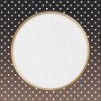 "Furry Cuddles Polka Dots Journal Card 4""x4"""
