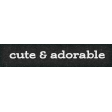 Furry Cuddles Cute & Adorable Word Art Snippet