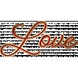 Furry Cuddles Love Word Art