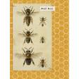 Heard the Buzz? Bees Journal Card 3x4