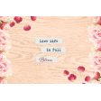 Bloom Revival Live Life Journal Card 4x6