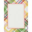 Bloom Revival plaid Journal Card 3x4