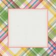 Bloom Revival plaid Journal Card 4x4