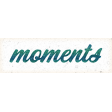 Swim With The Fishes Moments Word Art