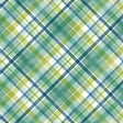 Swim With The Fishes Plaid Paper