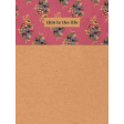 Cozy at Home Floral Journal Card 3x4