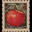Mulled Cider Apple Postage Stamp