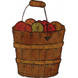 Mulled Cider Apple Basket
