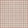 Mulled Cider Lined Plaid Paper