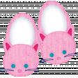 Pajama Party - Girls Kitty Slippers
