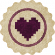 Apricity Label Heart