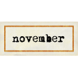 Apricity Label November