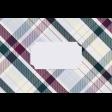 Apricity Plaid 4x6 Journal Card 2