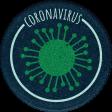 Healthy Measures Corona Round Sticker