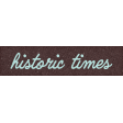 Healthy Measures Historic Times Word Art