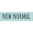 Healthy Measures New Normal Word Art