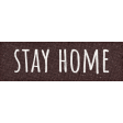 Healthy Measures Stay Home Word Art