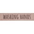 Healthy Measures Washing Hands Word Art
