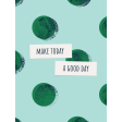 Healthy Measures Print : Good Day Journal Card 3x4