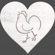 Chicken Keeper Element Heart Wood
