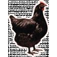 Chicken Keeper Element Sticker Hen