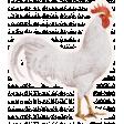 Chicken Keeper Element Sticker Rooster
