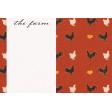 Chicken Keeper Farm 4x6 Journal Card